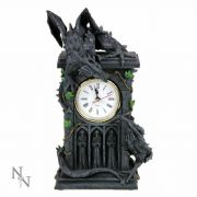 Dragon Clock Gothic Style Ornament